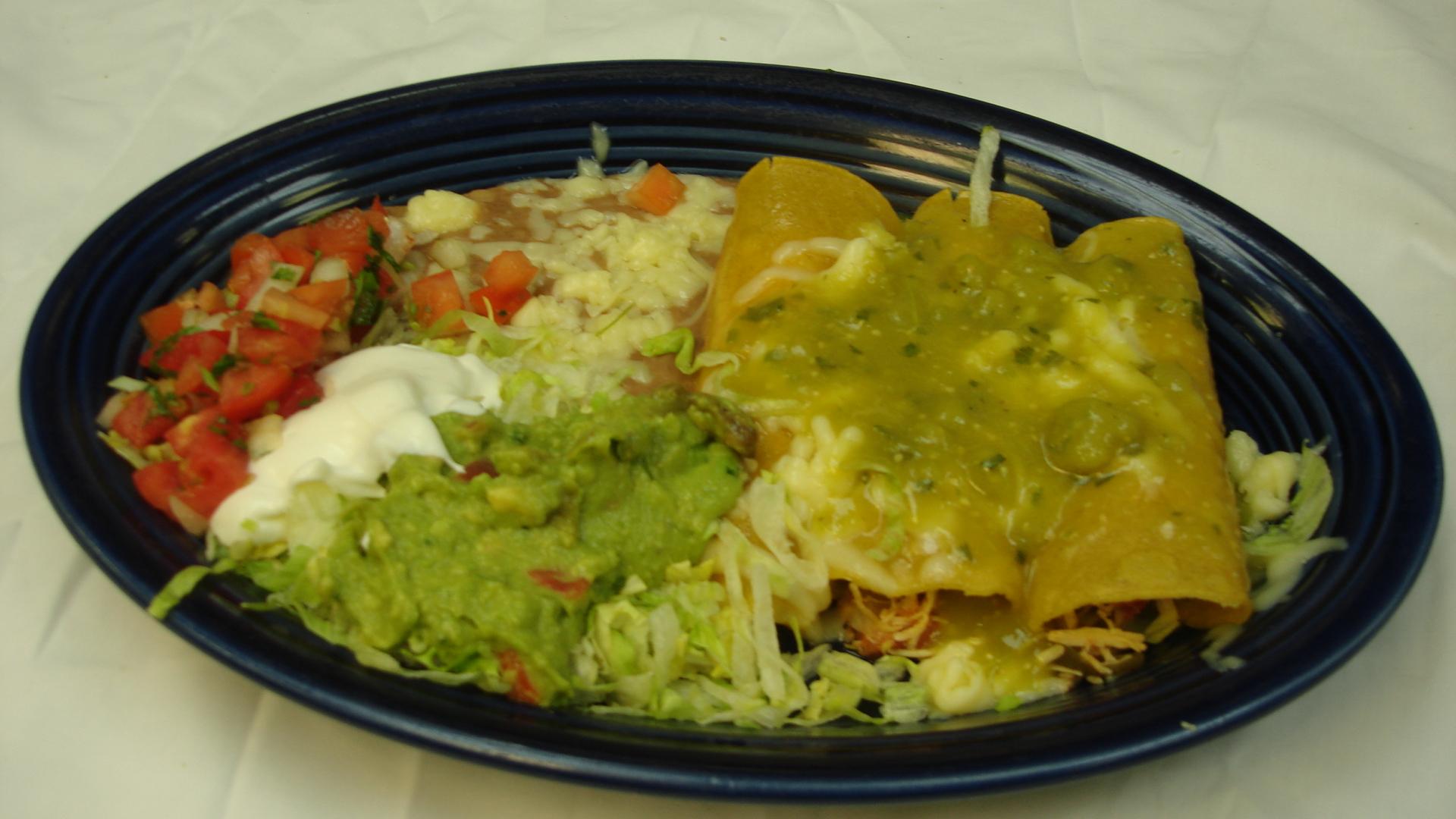 Enchiladas Suizas With Chicken Recipes — Dishmaps