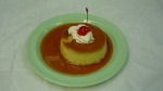 Flan - Mexican custard-style creme caramelo. Baked fresh daily.